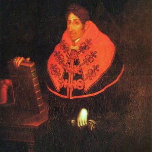 Don Alonso de Nava y Grimón. Óleo sobre lienzo. 144x110 cm. Sala Capitular. Catedral de La Laguna.Tenerife.