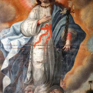 Inmaculada Concepción. Monasterio de Santa Catalina de Siena. La Laguna (Tenerife)