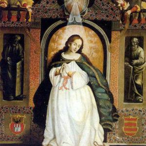 Inmaculada Concepción de la familia Lercaro Justiniani. Museo Municipal de Bellas Artes. Santa Cruz de Tenerife.