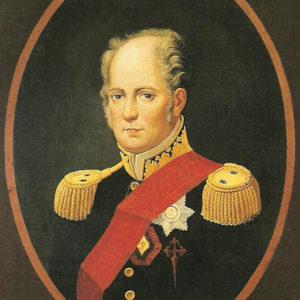 Agustín de Bethencourt.|Óleo sobre lienzo. 91x70,5 cm. Museo Municipal de Bellas Artes de Santa Cruz de Tenerife