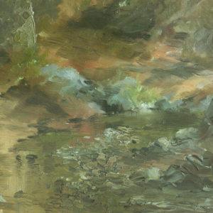 Paisaje.|Ca. 1913-1915. 21x30 cm. Excmo. Cabildo Insular de Gran Canaria