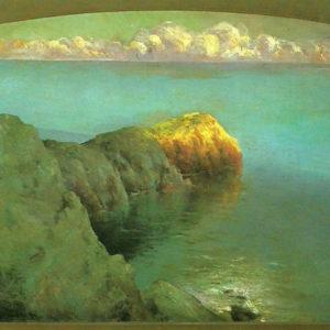 Vista de Capri.|C. 1908. Óleo sobre lienzo. 128x126 cm. Museo Municipal de Bellas Artes. Santa Cruz de Tenerife