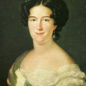Carlota Luisa de Godoy y Borbón, Condesa de Chinchón.|Colección particular. Madrid.