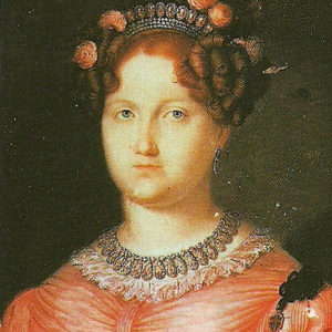 La infanta Luisa Carlota de Borbón-Dos Sicilias.|Colección Palacio Real. Madrid