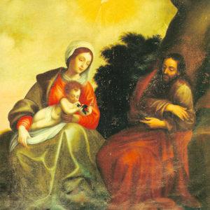Sagrada Familia. Santuario de Nuestra Señora de las Nieves. Santa Cruz de La Palma.