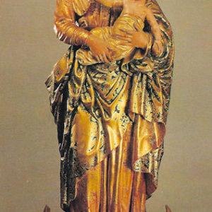 Virgen del Rosario. Santuario de Nuestra Señora de las Nieves. Santa Cruz de La Palma.