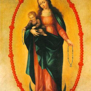 Virgen del Rosario. Iglesia de San Andrés. Villa de San Andrés de Sauces (La Palma).