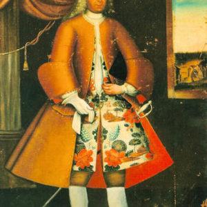 Antonio José Vélez Pinto. Óleo sobre lienzo. 216x130 cm. Colección particular. Las Palmas de Gran Canaria (Gran Canaria).