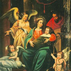 Óleo sobre lienzo. 180x144 cm. Iglesia de San Francisco. Santa Cruz de La Palma (La Palma).