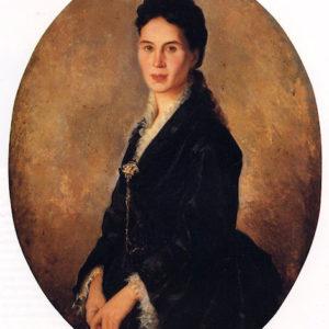 Luisa García Díaz.|Óleo sobre lienzo. 94x74 cm. Colección particular. Santa Cruz de Tenerife