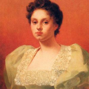 Retrato de dama.|Óleo sobre lienzo. Colección particular. Santa Cruz de Tenerife