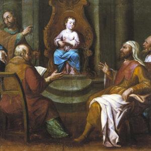 Jesús entre los doctores. Ermita de San Amaro. Puerto de la Cruz (Tenerife)