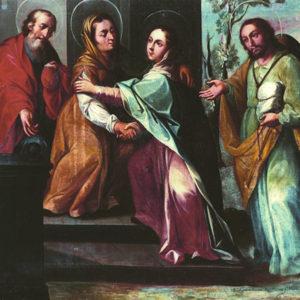 Visitación de la Virgen a Santa Isabel. Consejo Consultivo de Canarias. La Laguna (Tenerife)