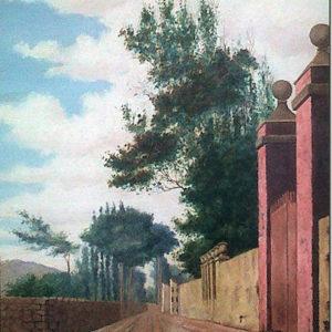 Paisaje.|1906. Óleo sobre lienzo. 70x50 cm. Colección particular. Santa Cruz de Tenerife