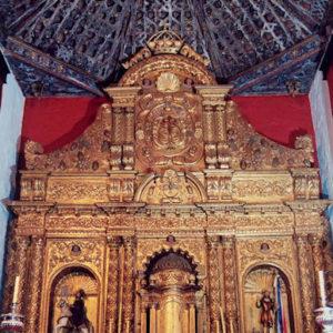 Retablo mayor. Iglesia de Santiago Apóstol. Los Realejos (Tenerife)