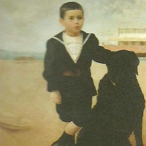 Retrato del niño Luis Fernando Benítez Inglott. 1896. Colección particular. Las Palmas de Gran Canaria.