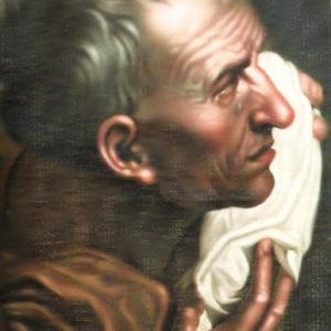 El llorón.|C.1868. Óleo sobre lienzo. 58,2x41,4 cm. Colección particular. Icod de los Vinos, Tenerife
