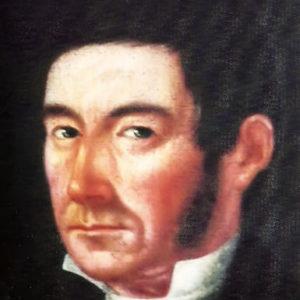 Retrato de hombre.|Óleo sobre lienzo. 77x62 cm. Colección particular. Icod de Los Vinos, Tenerife