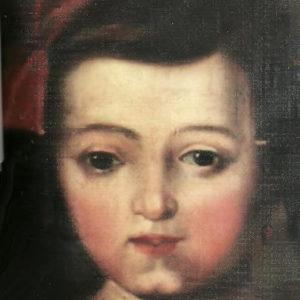 Retrato de niña.|1852. Óleo sobre lienzo. 44,7x33,5 cm. Colección particular. Icod de Los Vinos, Tenerife