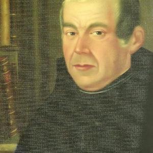 Retrato de Don Vicente Ramos y Bello.|Óleo sobre lienzo. 56x47 cm. Colección particular. Icod de Los Vinos, Tenerife
