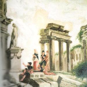 Ruinas antiguas.|Óleo sobre lienzo. 75,5x63 cm. Iglesia de San Marcos de Icod