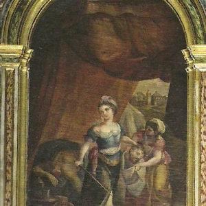 Judith y Holofernes.|Retablo de la Virgen de la Soledad. Iglesia de San Francisco de Asís. Las Palmas de Gran Canaria