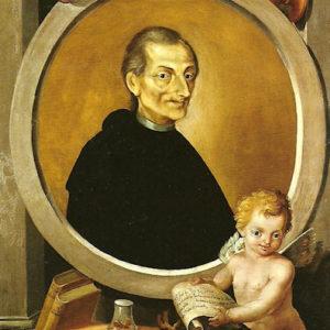 Retrato de José de Viera y Clavijo.|1812. Óleo sobre lienzo. 110x90 cm. sacristía Alta de la Catedral de Santa Ana. Las Palmas de Gran Canaria
