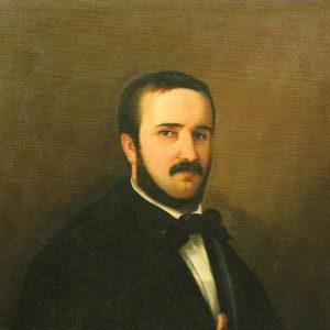 Juan E. Doreste.|1850. Colección particular. La Laguna. Tenerife