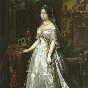 Retrato de Isabel II.|1850. Casa Regental. Las Palmas de Gran Canaria