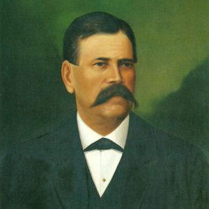 Don Vicente Galván.|1896. Óleo sobre lienzo. 53x42 cm. Colección particular. Santa Cruz de Tenerife