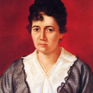 Doña Luisa Galván Balaguer.|Óleo sobre lienzo. Colección particular. Santa Cruz de Tenerife