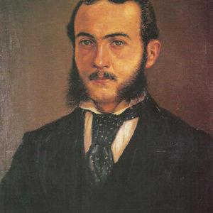 Retrato de Carlos Baker Smith.|1870. Óleo sobre lienzo. 61x41 cm. Colección particular. Santa Cruz de Tenerife