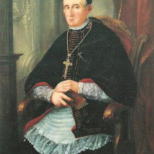Retrato de Vicente Orcos y Sanmartín, Obispo de Osma.|Galería alta de las Casas Capitulares. Catedral de La Laguna. Tenerife