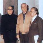 Jesús Arencibia, Felo Monzón y Santiago Santana (1982).