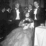 Alfredo Kraus con María Callas, con quien cantó La Traviata en Lisboa.