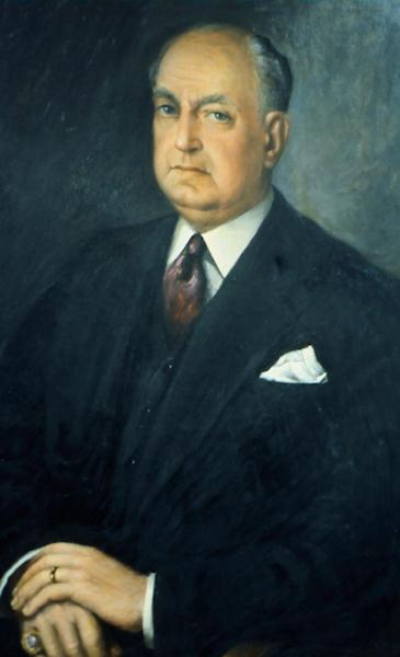Antonio Lecuona, retrato de Teodoro Ríos