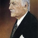 Tomás Machado pintado por su hijo Emilio Machado (1999).