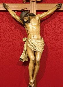 Crucificado (Sala Capitular), h. 1825. Catedral de La Laguna. Tenerife