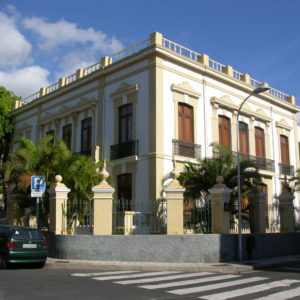 Casas de la SERU en el barrio de Los Hoteles. Viera y Clavijo/General Antequera. Santa Cruz de Tenerife, 1890 (Foto: F. García Barba)