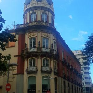 Antiguo Hotel Victoria. Cruz Verde/San Francisco. Santa Cruz de Tenerife, 1901 (Foto: F. García Barba)