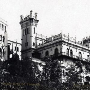 Hotel Quisisana. Paseo de las Escuelas Pías. Santa Cruz de Tenerife. 1902