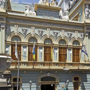 Sede del Círculo de Amistad XII de Enero. Juan Padrón. Santa Cruz de Tenerife. 1904