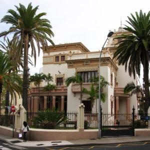 Palacete Martí Dehesa. Plaza de los Patos. Santa Cruz de Tenerife. 1912 (Foto: F. García Barba)
