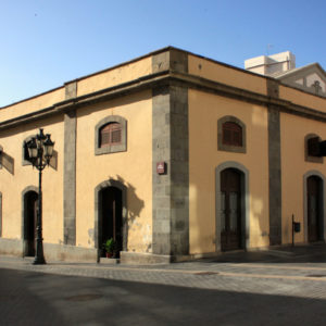 Mercado de la antigua Recova. Plaza de la isla de la Madera. Santa Cruz de Tenerife, 1856 (Foto: F. García Barba)