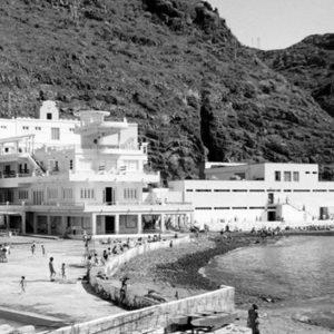 Balneario de Santa Cruz. Autovía de San Andrés. Santa Cruz de Tenerife. 1932 (Foto: Autor desconocido)