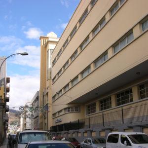 Hogar Escuela de María Auxiliadora. La Rosa. Santa Cruz de Tenerife, 1939 (Foto: F. García Barba)