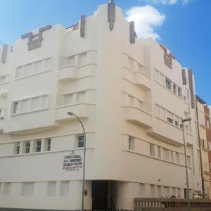 Clínica Bañares. Pérez de Rozas/Álvarez de Lugo. Santa Cruz de Tenerife, 1943 (Foto: F. García Barba)