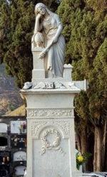 Sepulcro de la familia Rodríguez González (mármol), h. 1870 Cementerio Municipal. Santa Cruz de La Palma