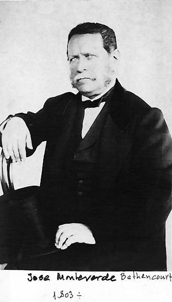 José Joaquín de Monteverde y Bethencourt.