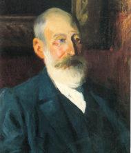 Ángel Romero: Retrato del Presidente Patricio Estévanez y Murphy.
